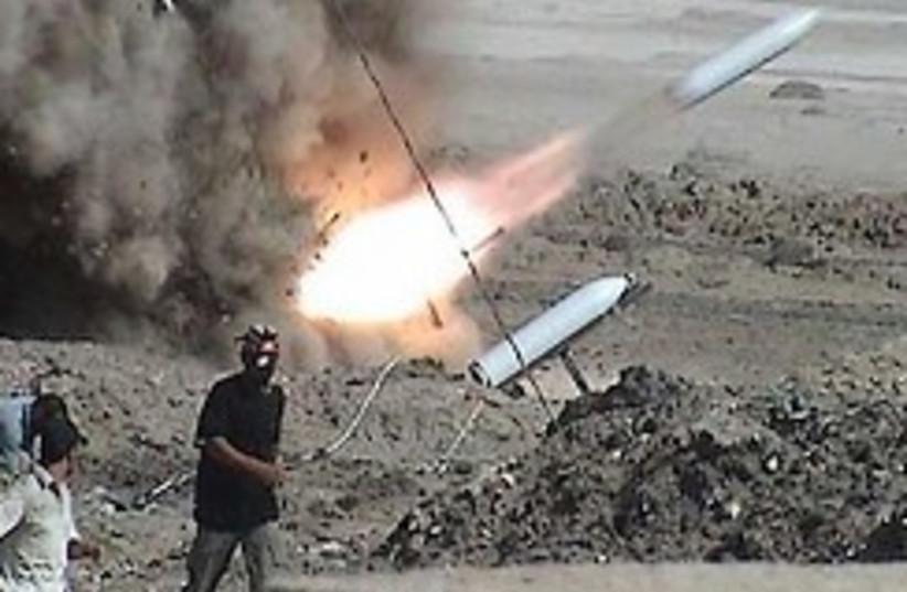 Insurgents fire rockets in Iraq 248.88 (photo credit: AP)
