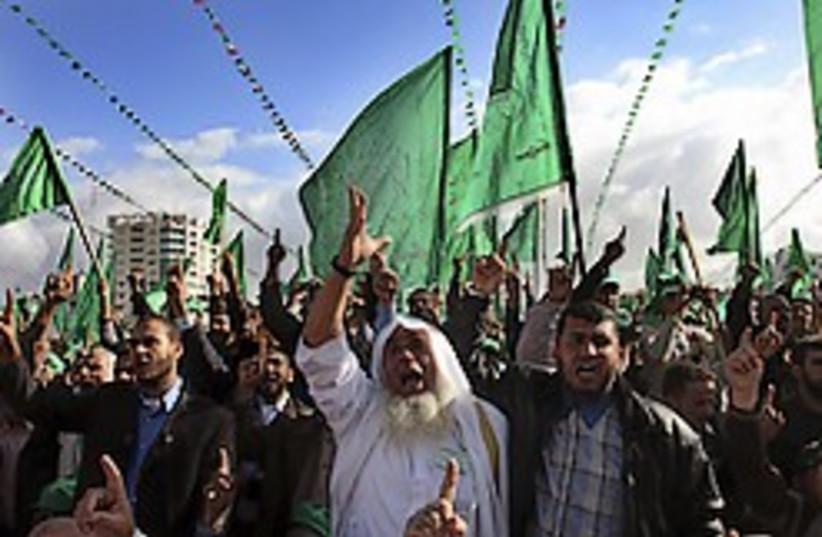 Gaza hamas rally 248.88 ap (photo credit: AP [file])