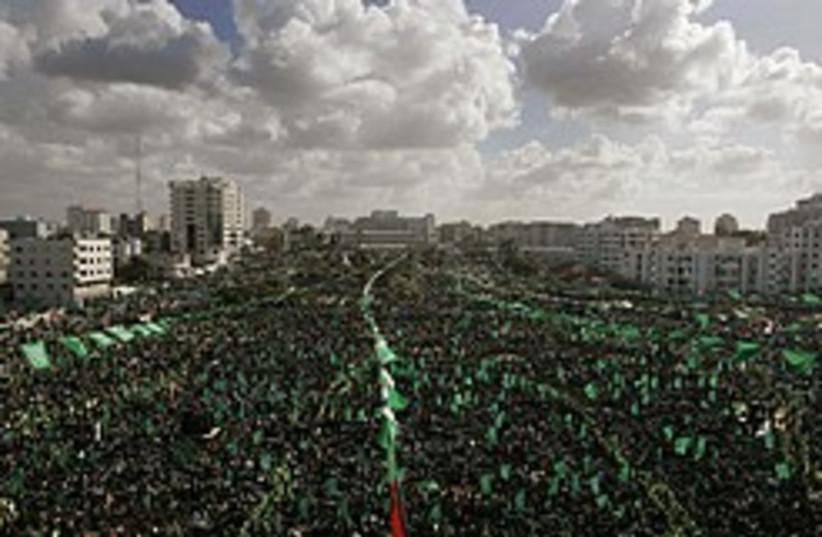 hamas rally gaza 248 88 ap (photo credit: AP)