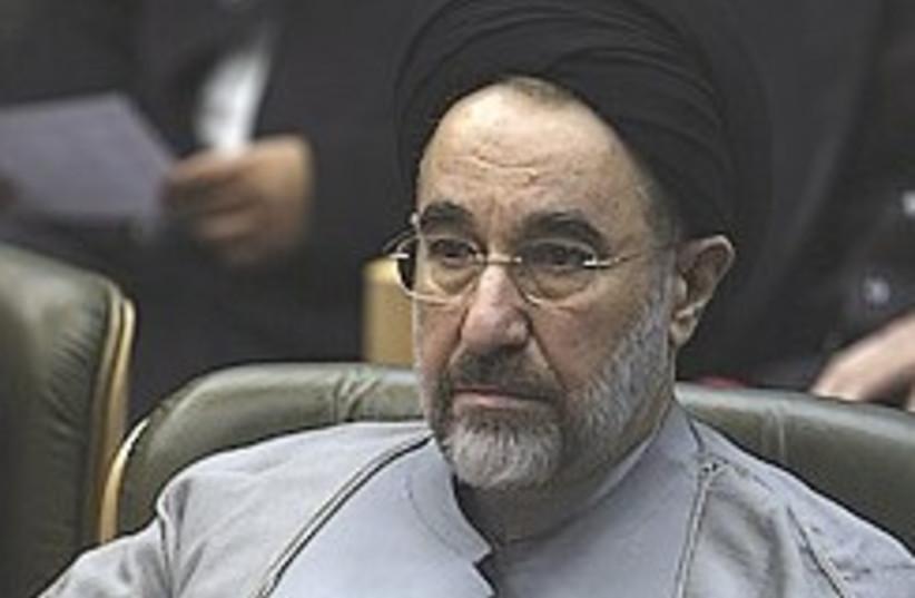 Mohammad Khatami 248 88 ap (photo credit: AP [file])
