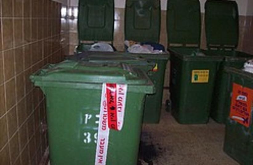 dumpsters 248 88  (photo credit: Yaakov Lappin)