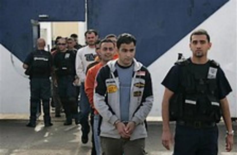 palestinian prisoner release ap (photo credit: )