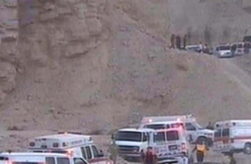 ambulances 248.88 (photo credit: Channel 2)