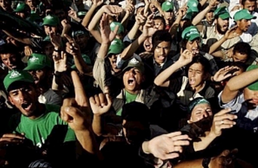 hamas rally 298  (photo credit: )