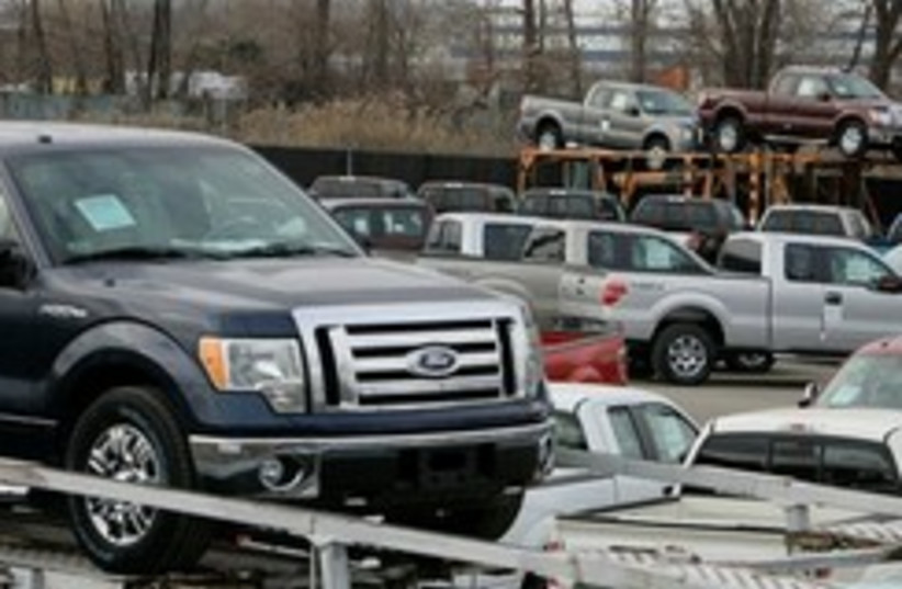 ford cars truck auto meltdown 248 88 (photo credit: AP [file])