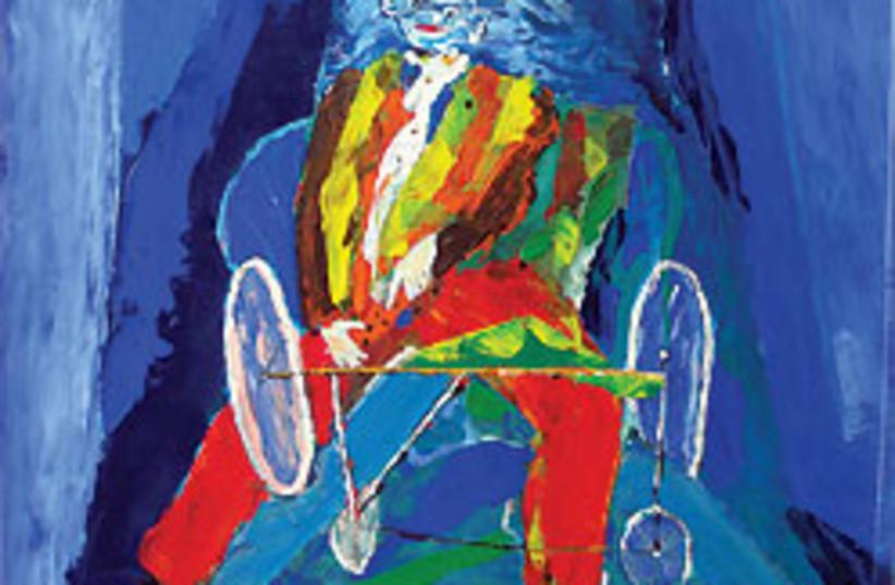 Bilan painting 88 248 (photo credit: Engel Gallery, Tel Aviv)