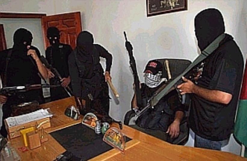 gunmen in office 298 (photo credit: AP [file])