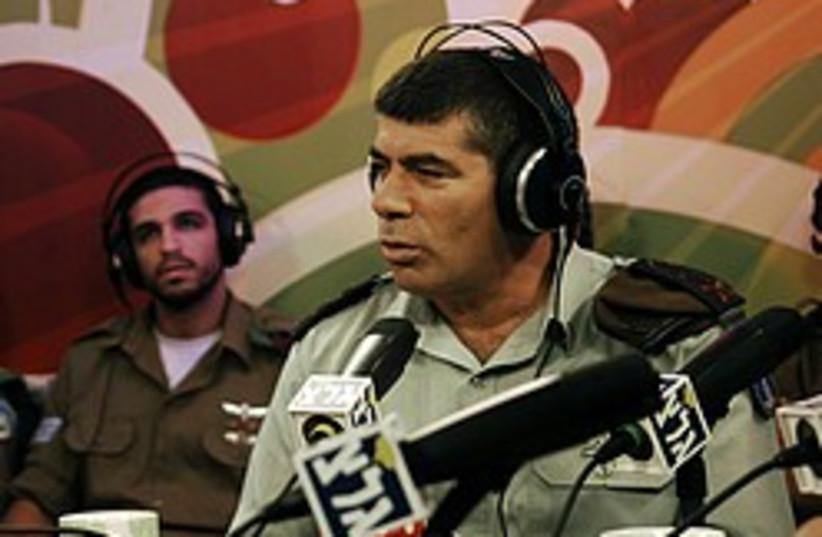 gabi ashkenazi radio 248 88 (photo credit: IDF)