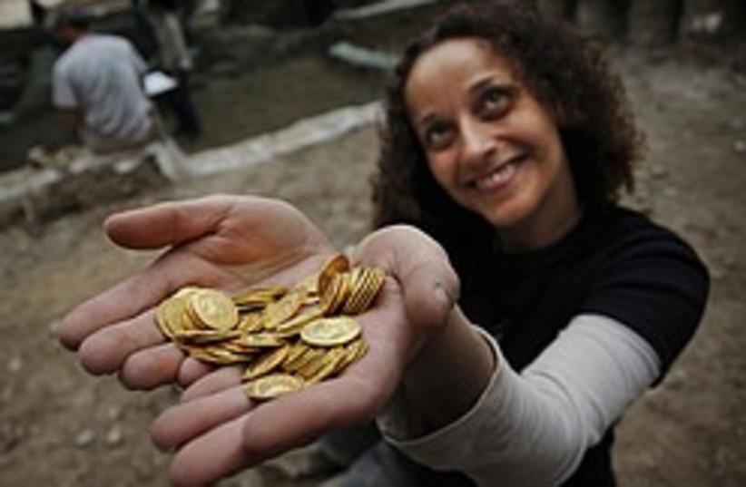 Jerusalem coins 248.88 (photo credit: AP)