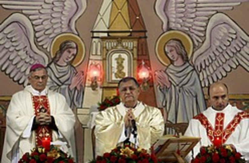 latin patriarch gaza 248 88 ap (photo credit: AP)