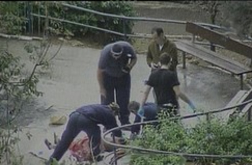 murder in haifa MURDER SCENE GENERIC 248 (photo credit: Channel 2)