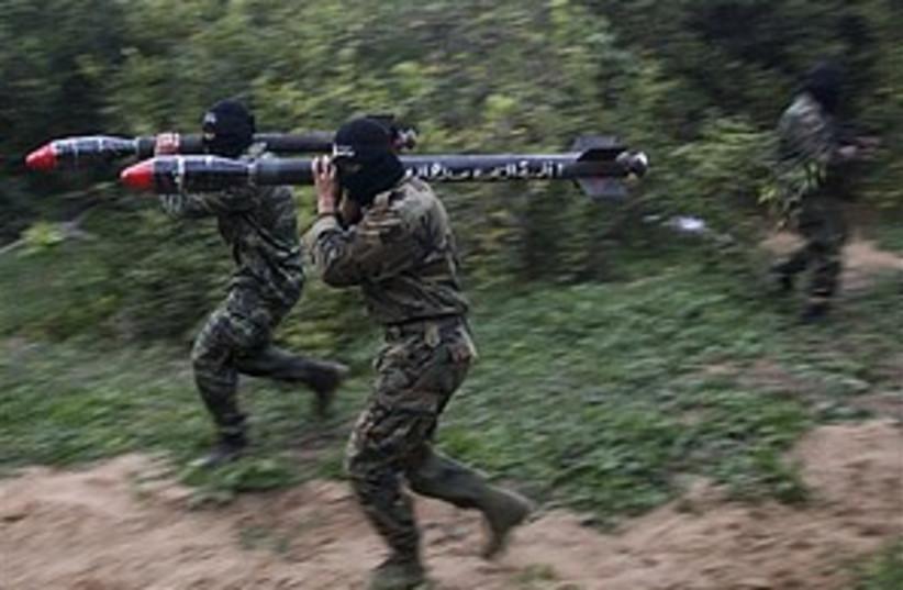 jihad mortar rocket 3 298.88 (photo credit: )