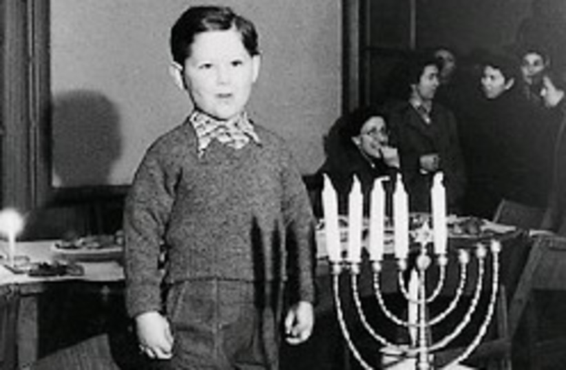 Hanukka bergen belsen 248 courtesy (photo credit: Courtesy of Museum of Jewish Heritage)