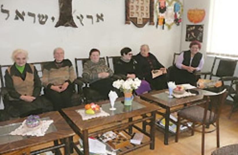 Seniors in Georgia 88 248 (photo credit: Ruth Eglash)