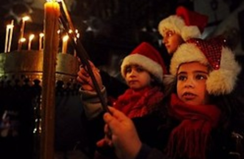 christmas bethlehem 248.88 ap  (photo credit: AP)