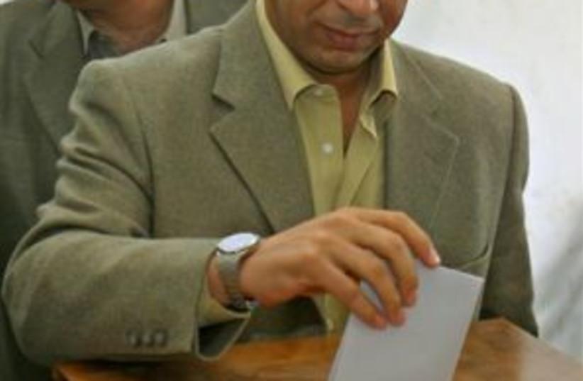 dahlan voting 298.88 (photo credit: AP)