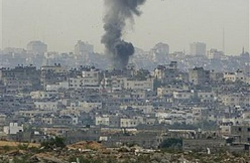 gaza attack begins 248.88 (photo credit: )