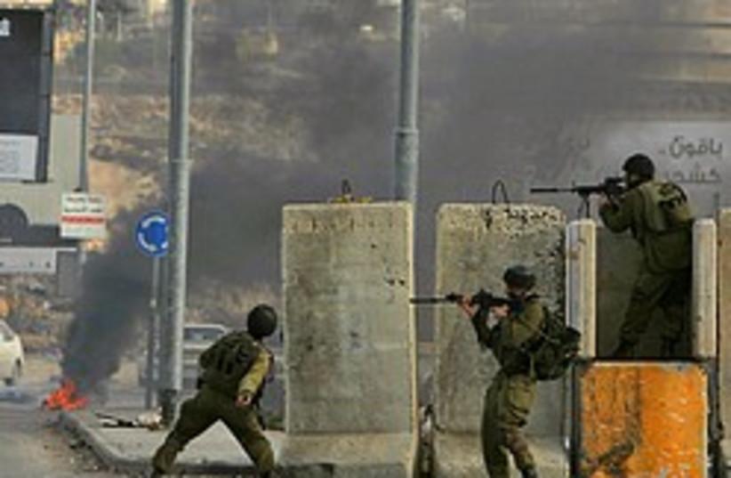riots ramallah gaza operation 248.88 (photo credit: AP)