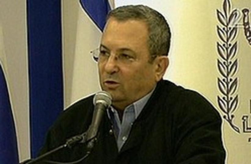 ehud barak gaza op 248.88 (photo credit: AP [file])