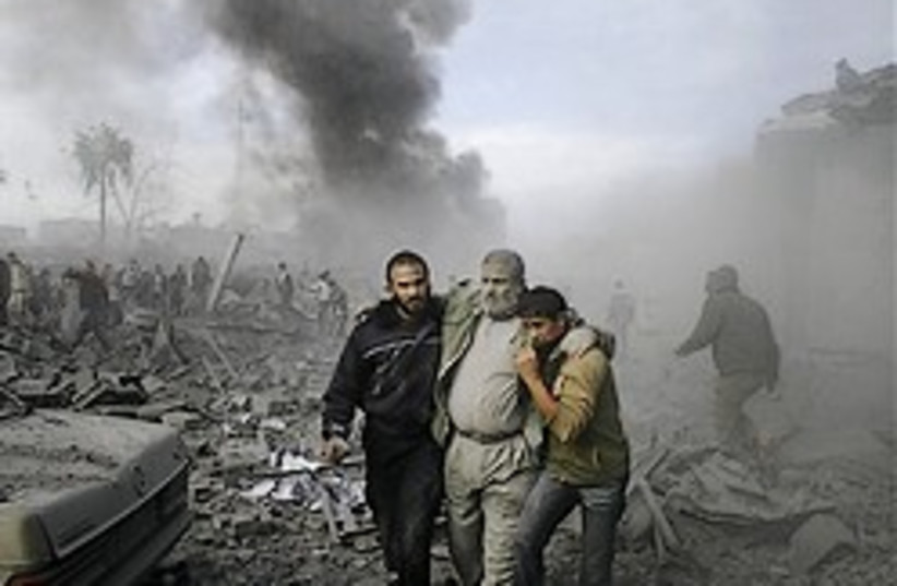 gaza rubble good one 248 ap (photo credit: AP)