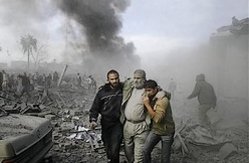 gaza rubble good one 248.88 ap (photo credit: AP)