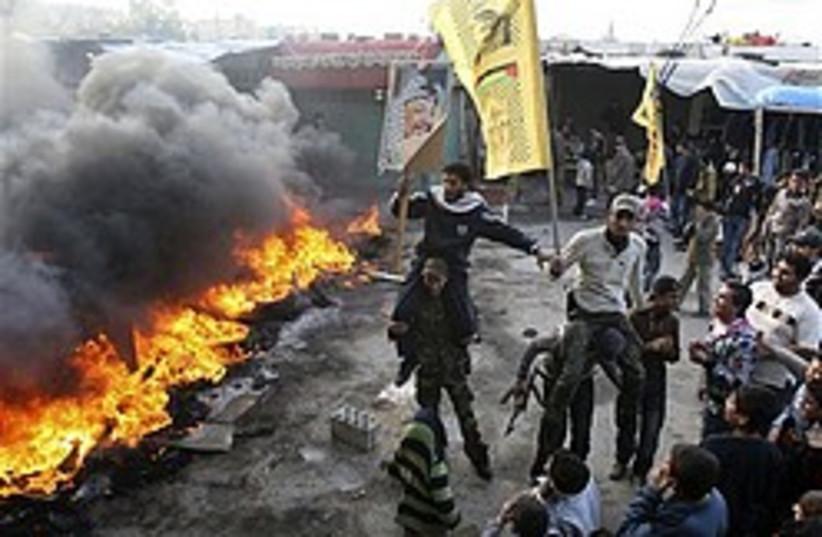 pro--gaza protest lebanon 248 88 (photo credit: AP [file])