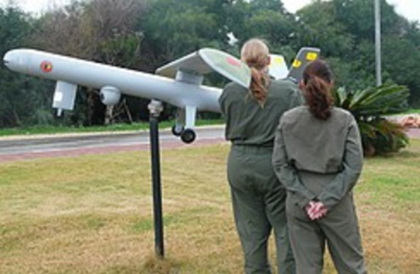 UAV female pilots 248.88 (photo credit: Ruth Eglash)
