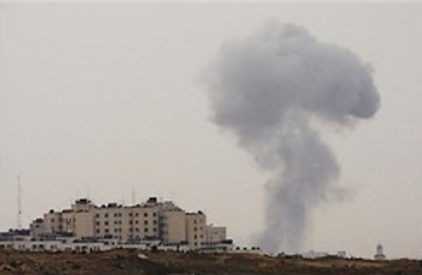 gaza air strike 248.88 (photo credit: AP)