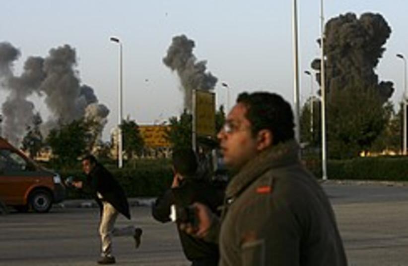journalists gaza 248.88 (photo credit: AP)