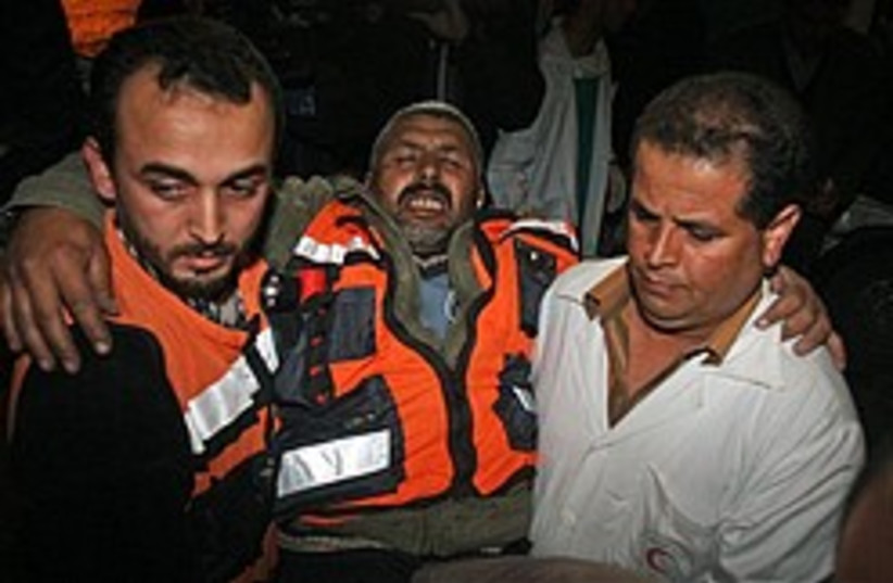 shifa hospital gaza hamas 248 (photo credit: AP [file])