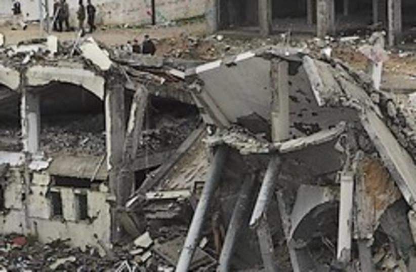 Gaza rubble 248.88 (photo credit: AP)