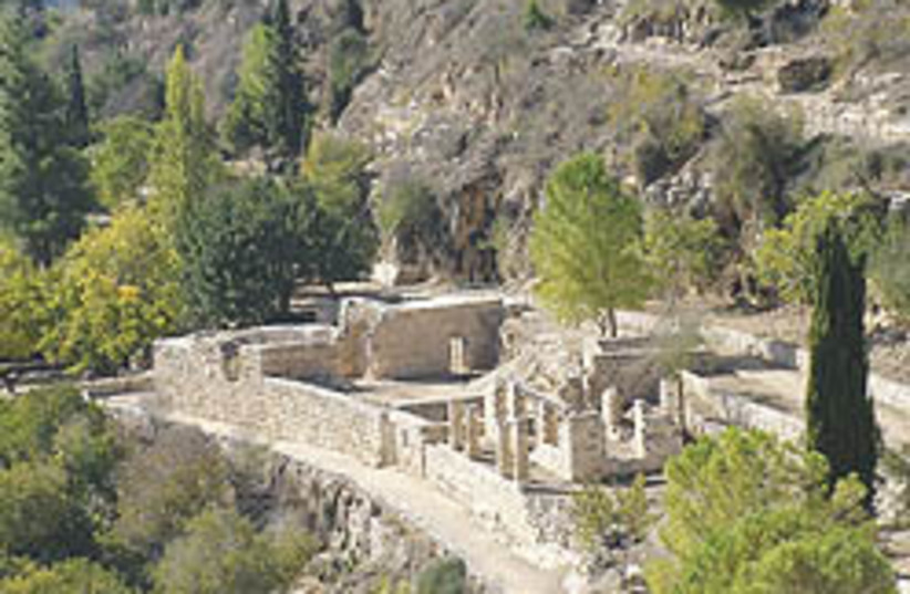 sataf renovated ruins 248  (photo credit: Jacob Solomon)