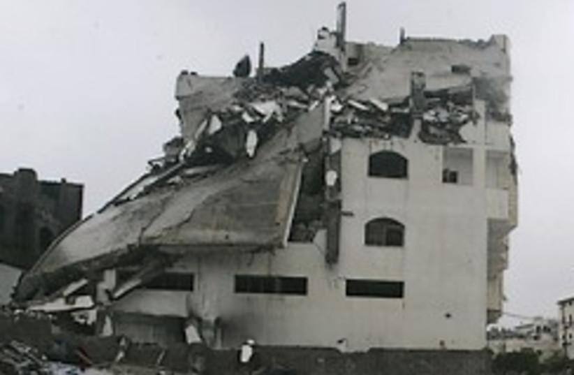bombed Hamas Interior Ministry 248.88 (photo credit: AP)