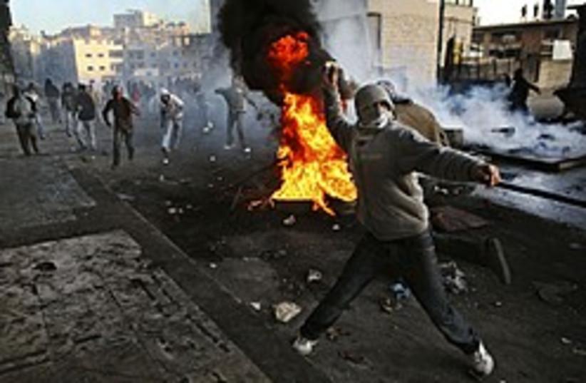 shuafat fire protest 248 88 ap (photo credit: AP)