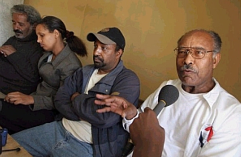 ethiopian opposition (photo credit: AP)
