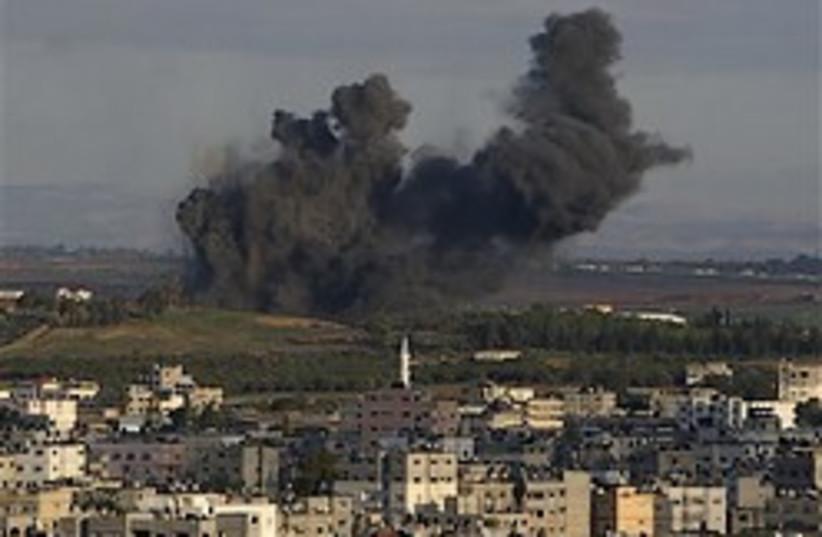 smoke over gaza 248.88 (photo credit: AP)