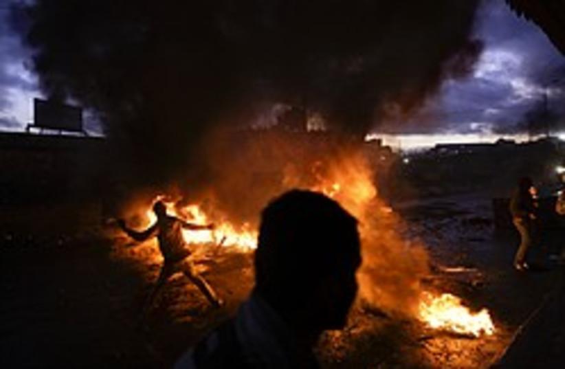 shuafat gaza protest 248 88 ap (photo credit: AP)