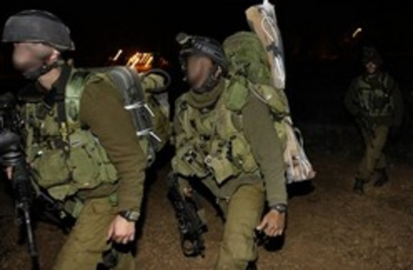 infantry in Gaza 248.88 (photo credit: AP)