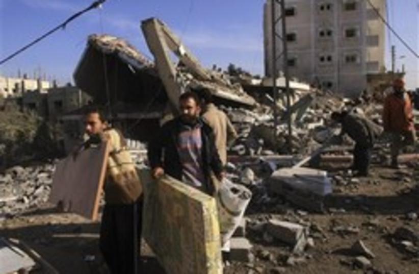 gaza ruins 248.88ap (photo credit: AP [file])