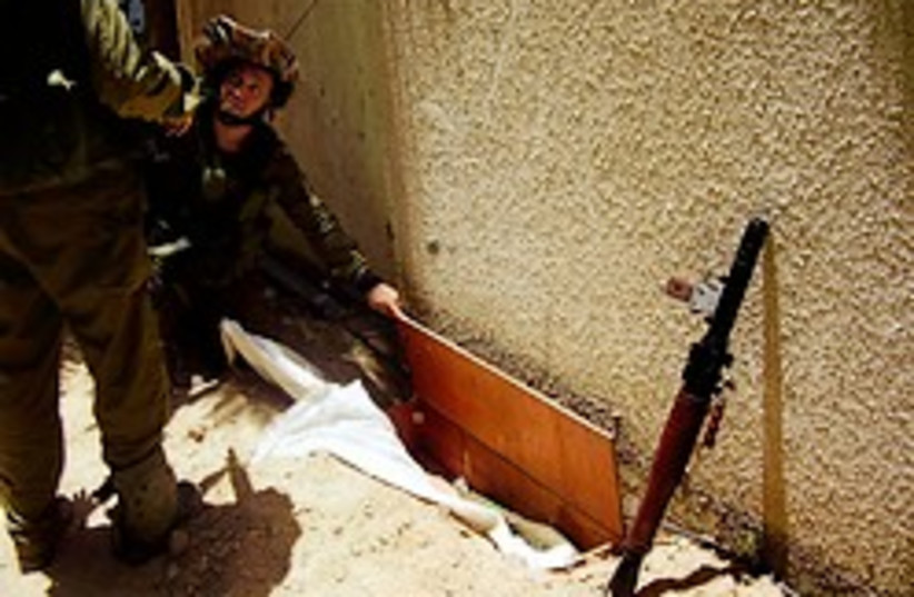 sajaiya school weapons cache 248.88 (photo credit: IDF [file])