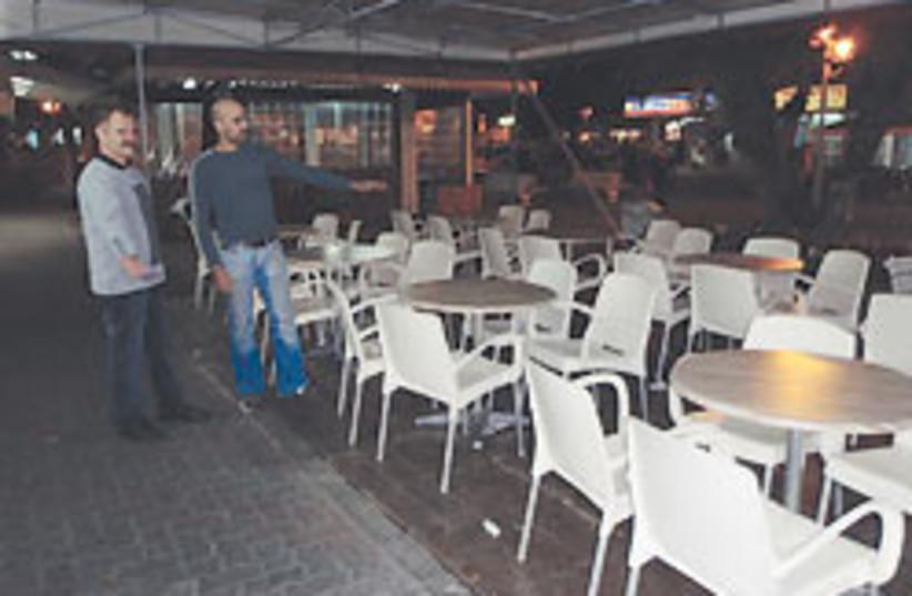 empty restaurant 88 248 (photo credit: Diana Bletter)