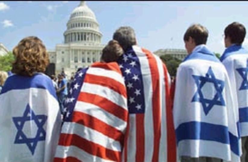 pro-israel support US298 (photo credit: AP)