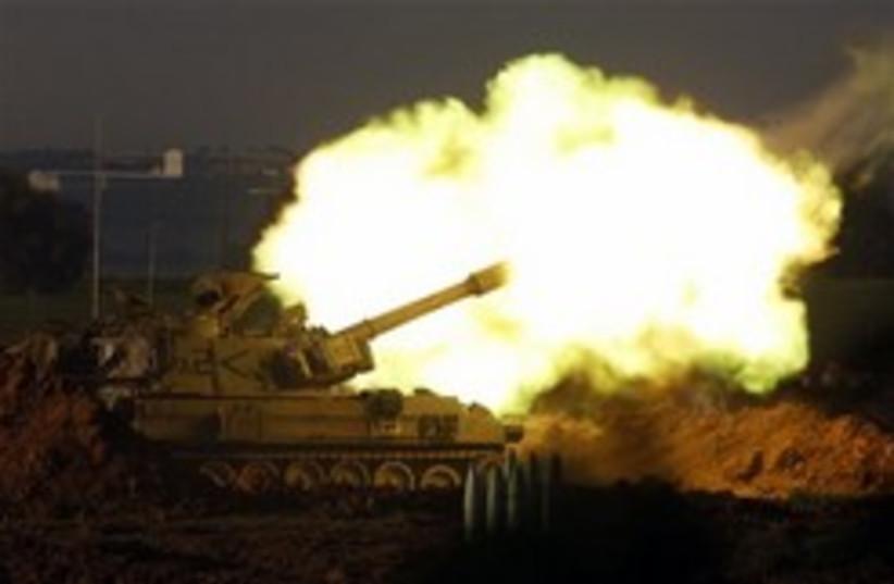 artillery gaza 248.88 (photo credit: AP)
