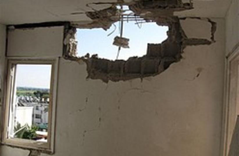 ashkelon kassam damage 248 88 (photo credit: Courtesy of Ashkelon Municipality [file])