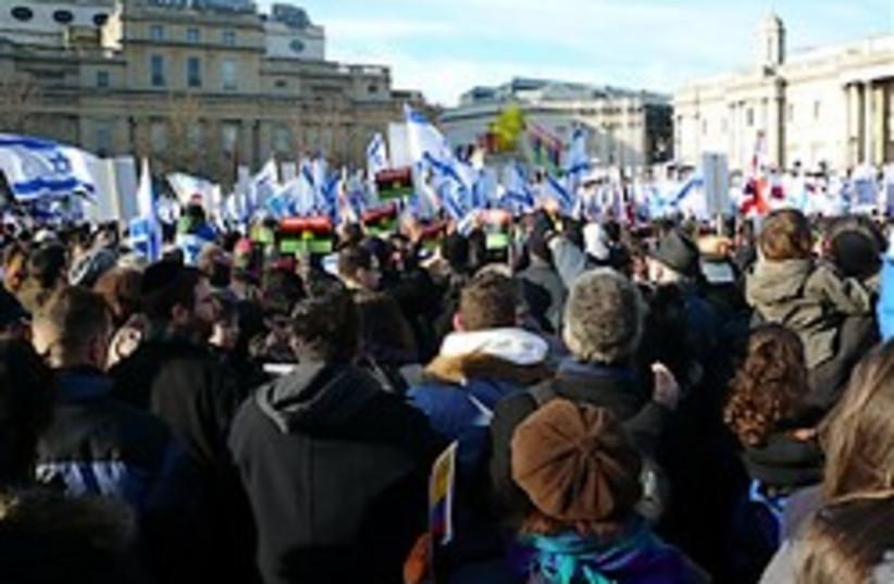 pro-israel rally 248.88 (photo credit: Jonny Paul)