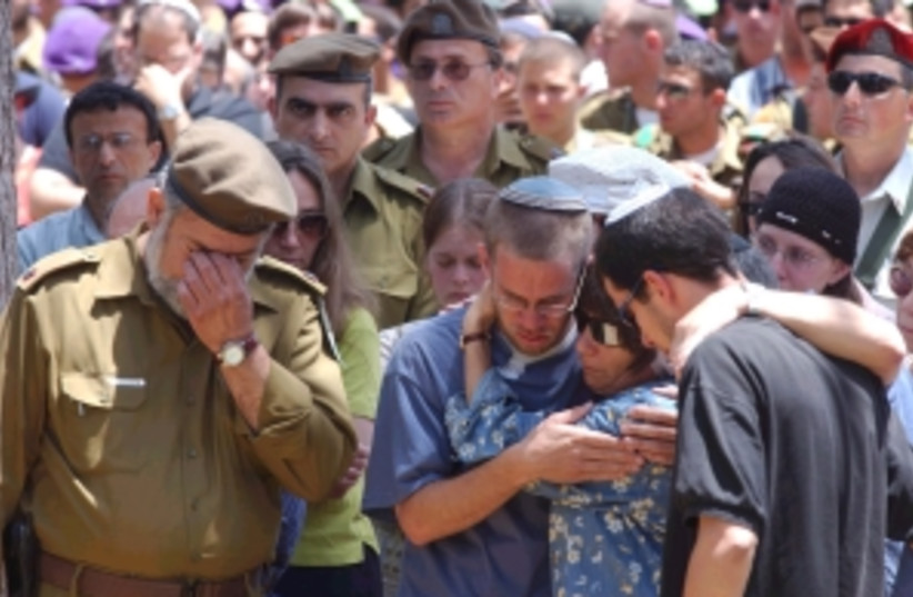 military funeral 298 88 (photo credit: Ariel Jerozolimski [file])