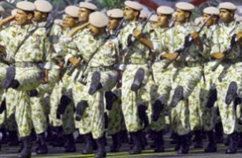 iranian soldiers 298. AP (photo credit: AP [file])