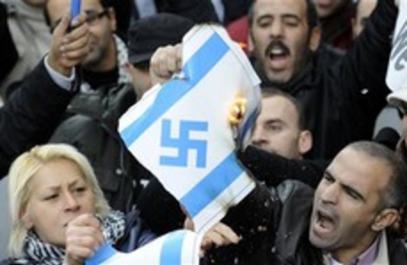anti israel in spain 248.88 (photo credit: AP [file])