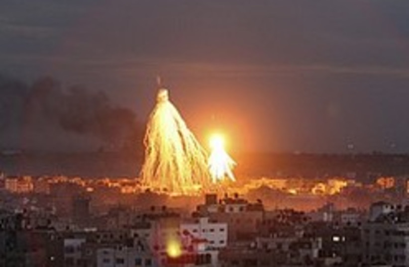 gaza air strike 248 88 ap (photo credit: AP [file])
