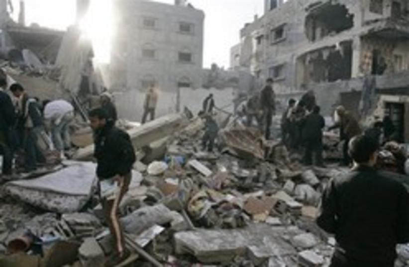 bombed gaza248.88ap (photo credit: AP)